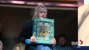 Saskatoon church hosts Russian Orthodox healing icon
